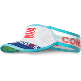 Compressport UltraLight - Accesorios para la cabeza - azul/blanco